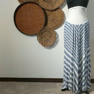 Dresses & Skirts - Striped maternity skirt